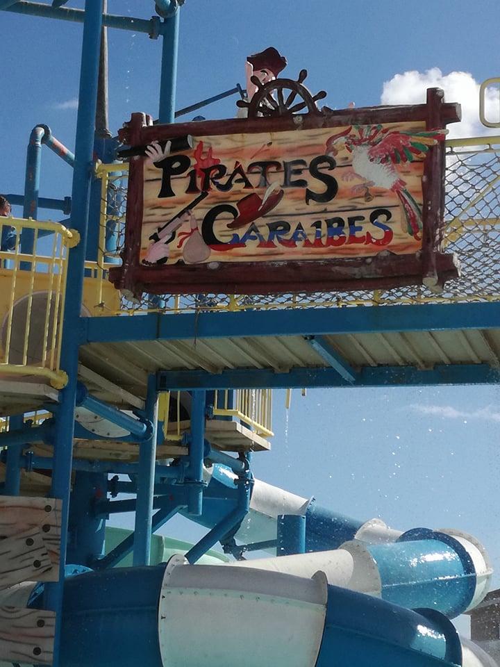 Nem Karib tenger, hanem Vörös tenger kalózai, mászóka és csúszda komplexum nagyobbacska gyerekeknek
