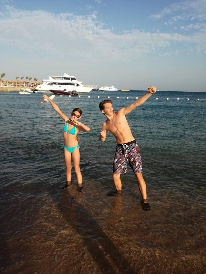 Az első pózolások a Vörös tenger partján