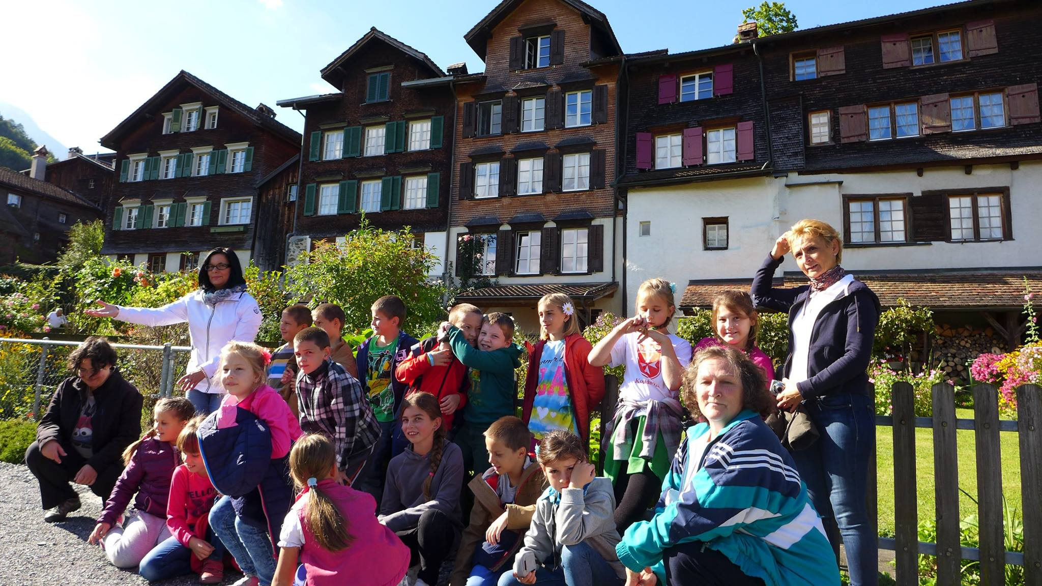 Kirándulás Svájcba, Werdenbergbe