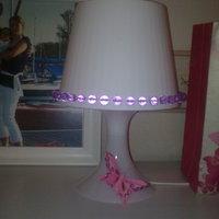 IKEA gyerek-lámpa gyöngyökkel és pillangóval