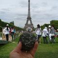 Geocaching Párizsban