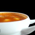 Tökgombóc leves