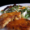 Currys csirke céklasalátával