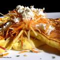 Túrós-sajtos omlett