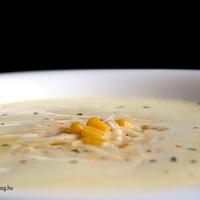 Currys kukorica krémleves