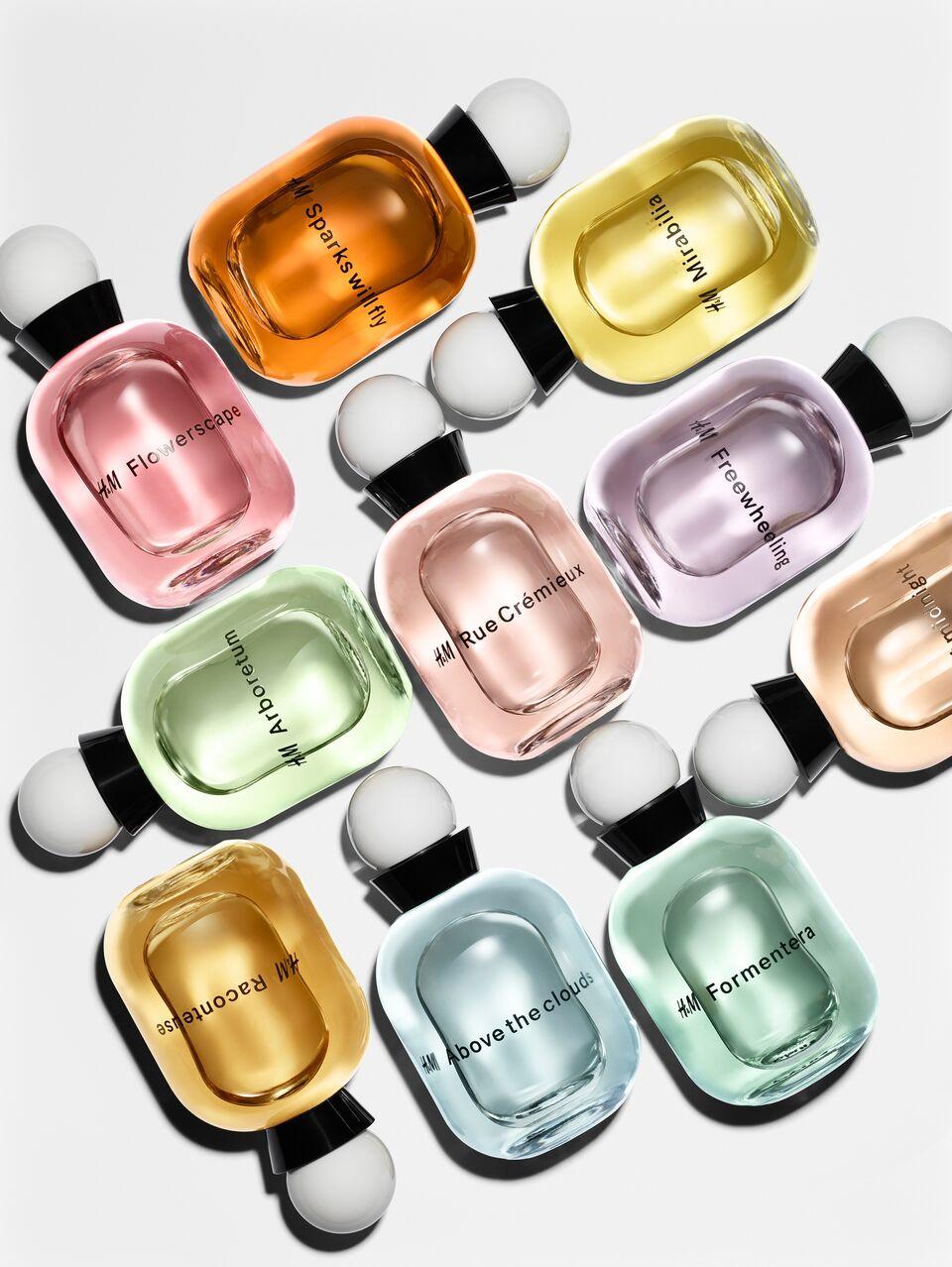 Megérkezett a H&M első parfümkollekciója! - 25 egyedi illat a világ egyik vezető parfümházától
