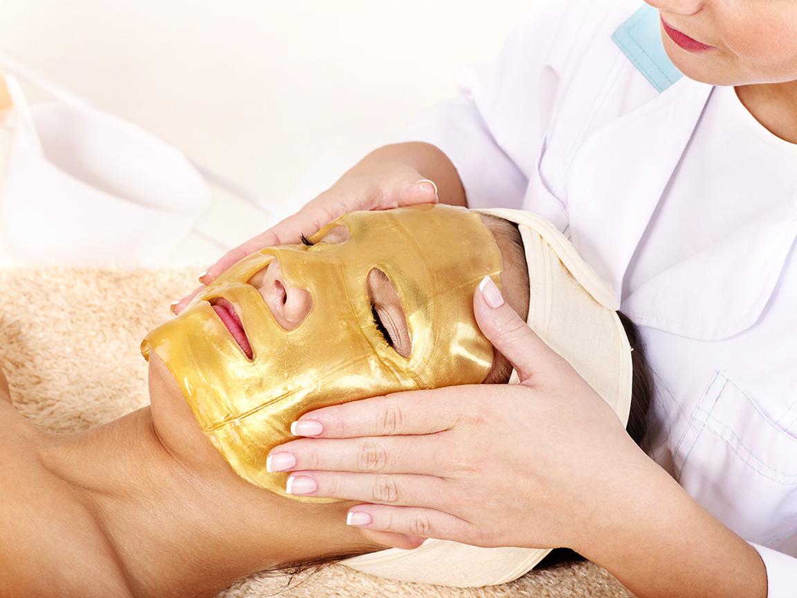Mit tud egy 24 karátos arany arcmaszk?
