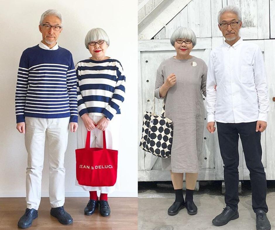 Kinézetre is mindig összepasszol a 37 éve házas japán pár