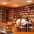 Elmerült tanulás a könyvtárban