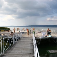 Meztelenkedés a Balatonnál - Berény Naturista Strand