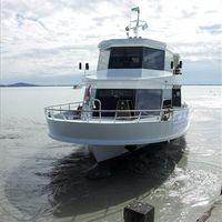 Megtette első útját a Balaton új hajója