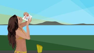 Pixelnők a kisbuszban: kortárs művészet és bulik Tihanyban