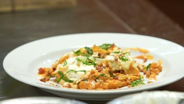 Balcsin is elkészíthető receptek: harcsapaprikás lasagne