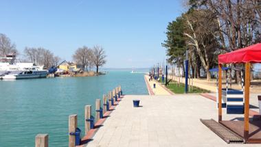 Hét éve nem volt ennyi víz tavasszal a Balatonban