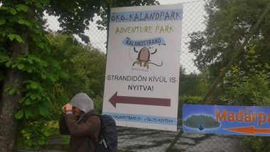 Gyenesdiási Kalandstrand: nagy volt az arcunk és leizzadtunk