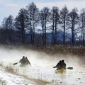 Élményevezés télen, a hévízi patakon