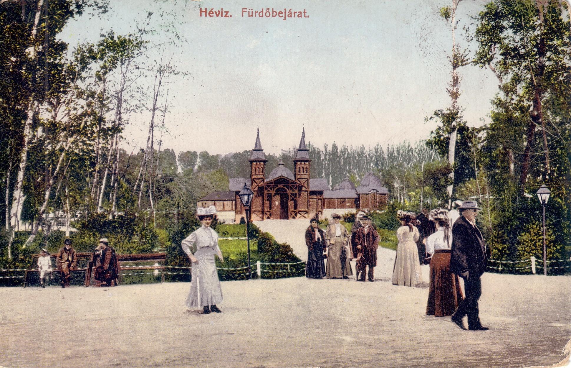 Ferenc Ferdinándtól Móricz Zsigmondig ... Boldog Békeidők híres vendégei Hévízen