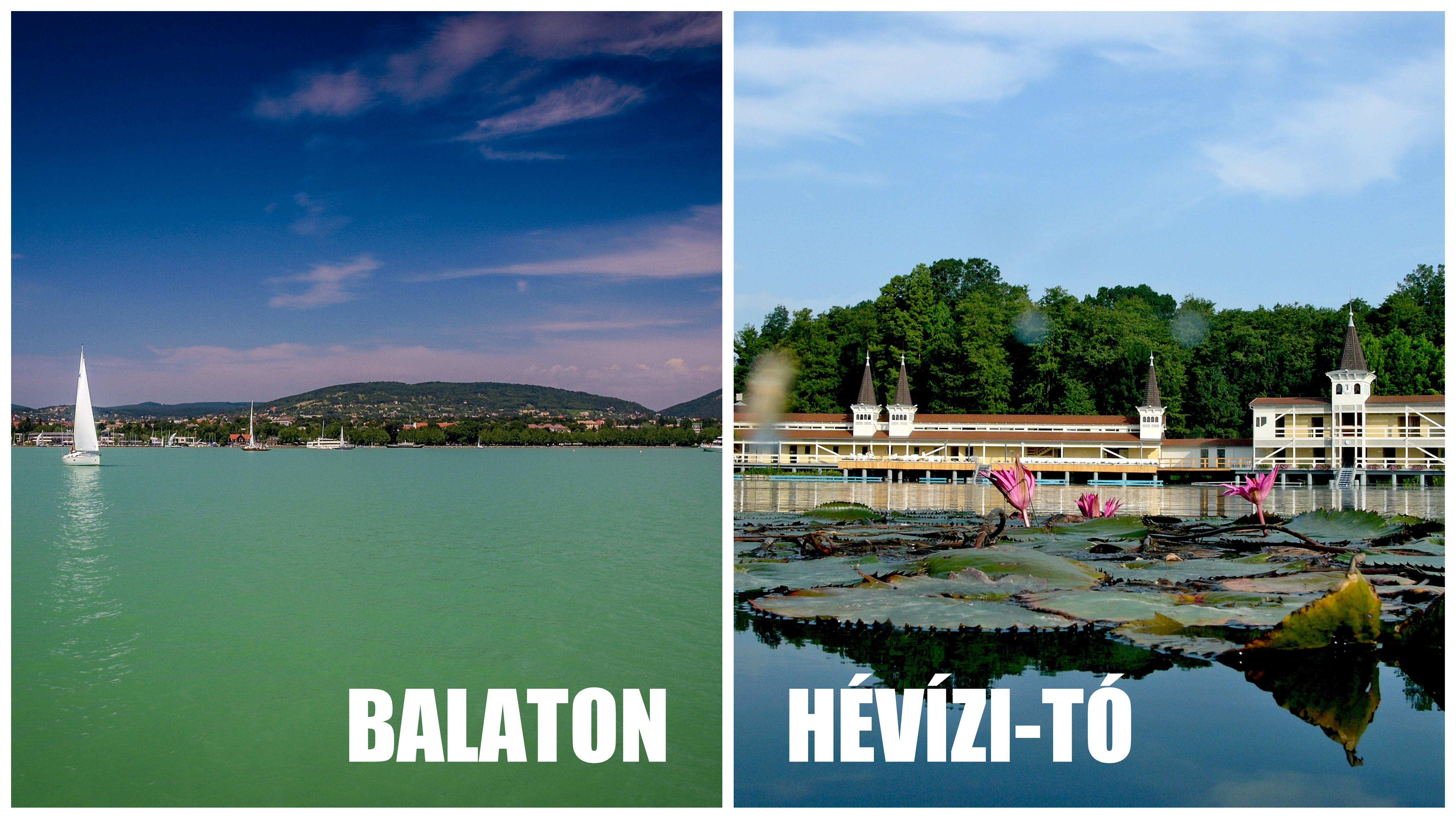 """Hévízi-tó vs Balaton? Különbségek és hasonlóságok. """"Tudtam, csak nem sejtettem!"""""""
