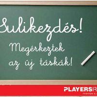 Sulikezdés a Playersroom-ban!