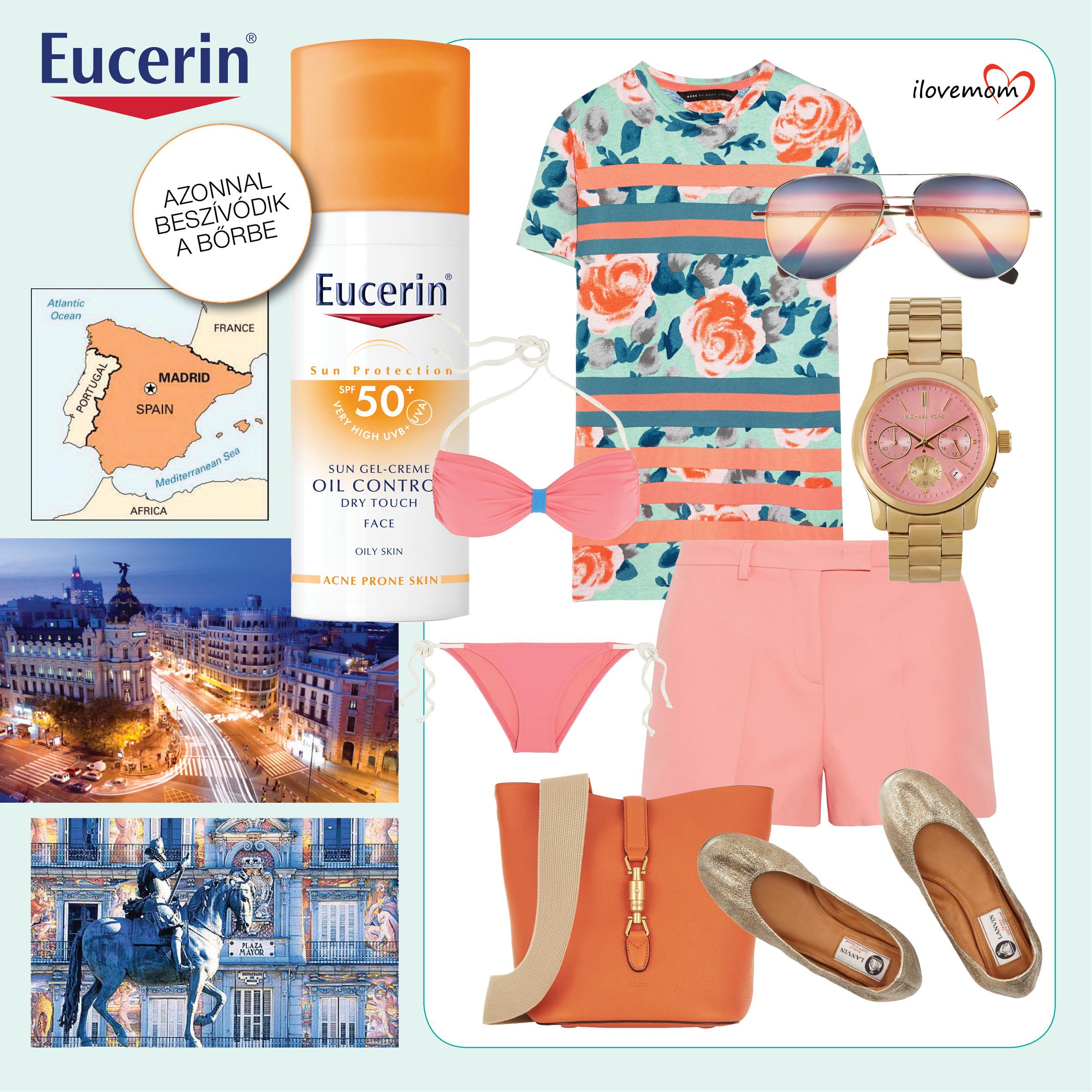 90036a3368 Válaszd ki a bőrtípusodnak megfelelő fényvédelmet az Eucerin Sun  termékcsaládjából!