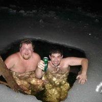 Hidegben is csak a jéghideg SÖR! :))