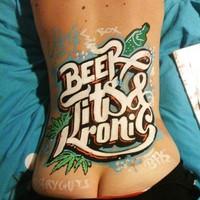 BEERpong tattoo! :)