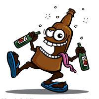 Milyen már az, hogy ha a SÖR is iszik?! :)