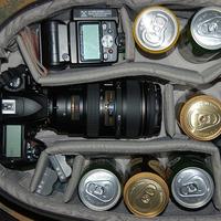 Egy profi fotós így pakol be! :)