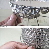 Így csinálj lámpaburát SÖRnyitókból!