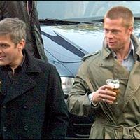 Ismert emberek és a SÖR - George Clooney és Brad Pitt