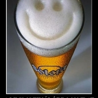Don't worry, because BEER is happy! ...don't drink Cappy! :)