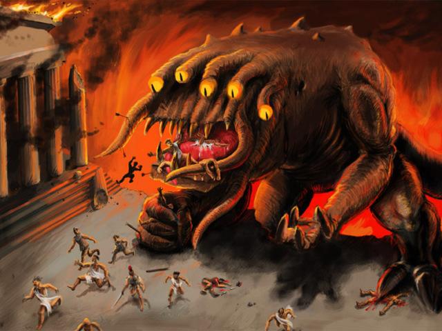 Az emberevő szörnyeteg