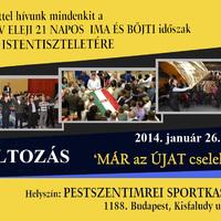 Záró istentisztelet 2014. január 26.