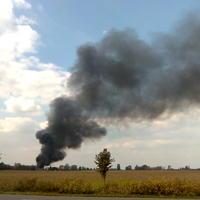 Tűzeset a kalocsai Ipari Parkban