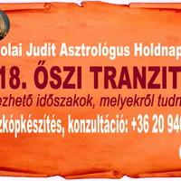 Őszi tranzitok 2018. - Jelképek és időszakok, melyekről tudnod kell