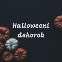 Halloweeni dekorok