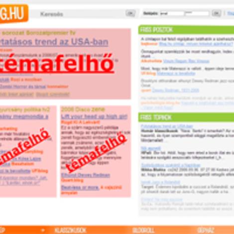 Blog.hu címlap: milyen linkeket ajánlhatsz?