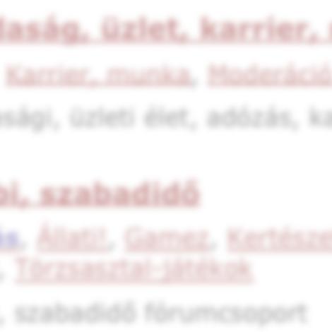 Új keresőmotor az Index.hu Fórumon