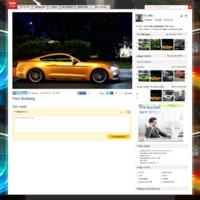 Indafotó képoldal revamp - maximális slide-show élmény [updated]