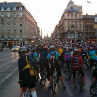 Budapesti Critical Mass történelem képekben