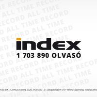 Történelmi rekord az Indexen
