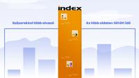 Hogyan hagyta állva az Index a konkurenciát?