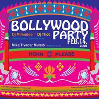 Bollywood party - febr. 14. 21.00