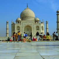 Némi magyarázat- Taj Mahal, ahogy én láttam