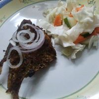 Indiai konyha - Kerala fish fry