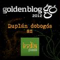 Még egy dobogós helyezés a Goldenblogon! :-)