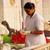 Egészségügy Indiában 2. - Falusi kórház