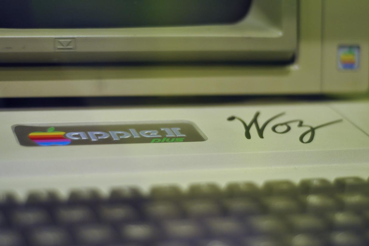 Ez bizony Steve Wozniak, az Apple alkótójának a kézjegye