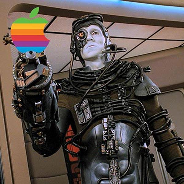 Apple / Borg: az ellenállás hasztalan