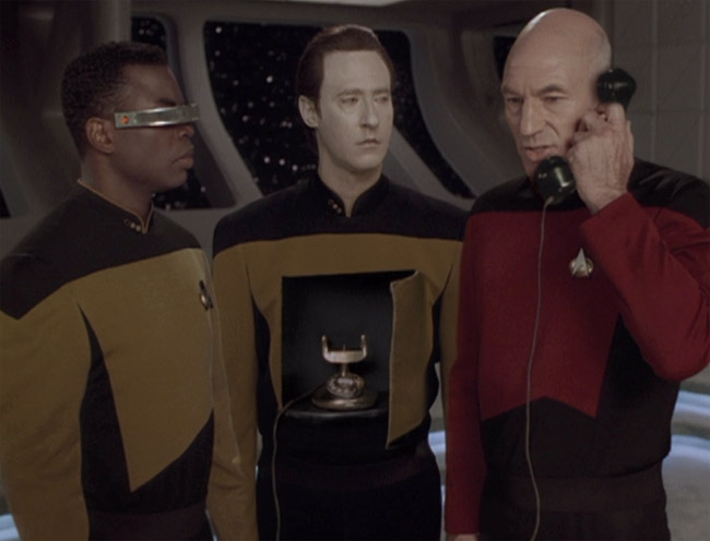 Star Trek: Mr. Data, Piccard és La Forge